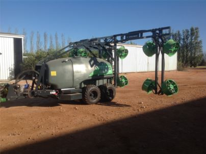 Vineyard Fungicide Sprayers Pastro Custom Ag Pty Ltd